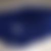Snood unisexe 4 ans,bleu marine,laine acrylique,boutons bûchette