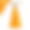 Pompon gland jaune doré 6cm