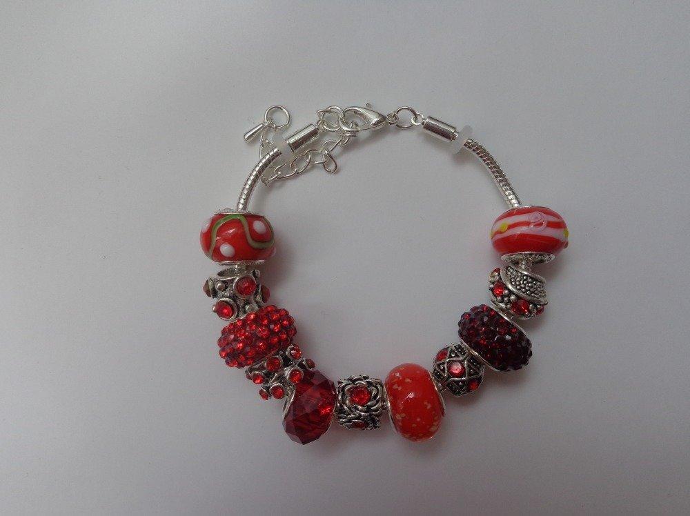charms rouge pandora