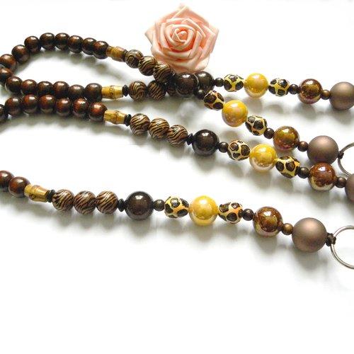 finition bois Anse de sac anse unique anse en perles de bois lani\u00e8re en perle poign\u00e9e de sac anse perle cr\u00e9ation d/'anse de sac