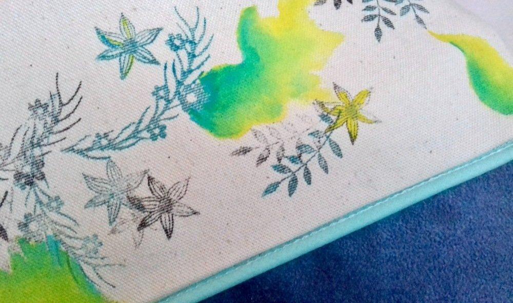 Pochette stylisée, vive le printemps ! *libellule*