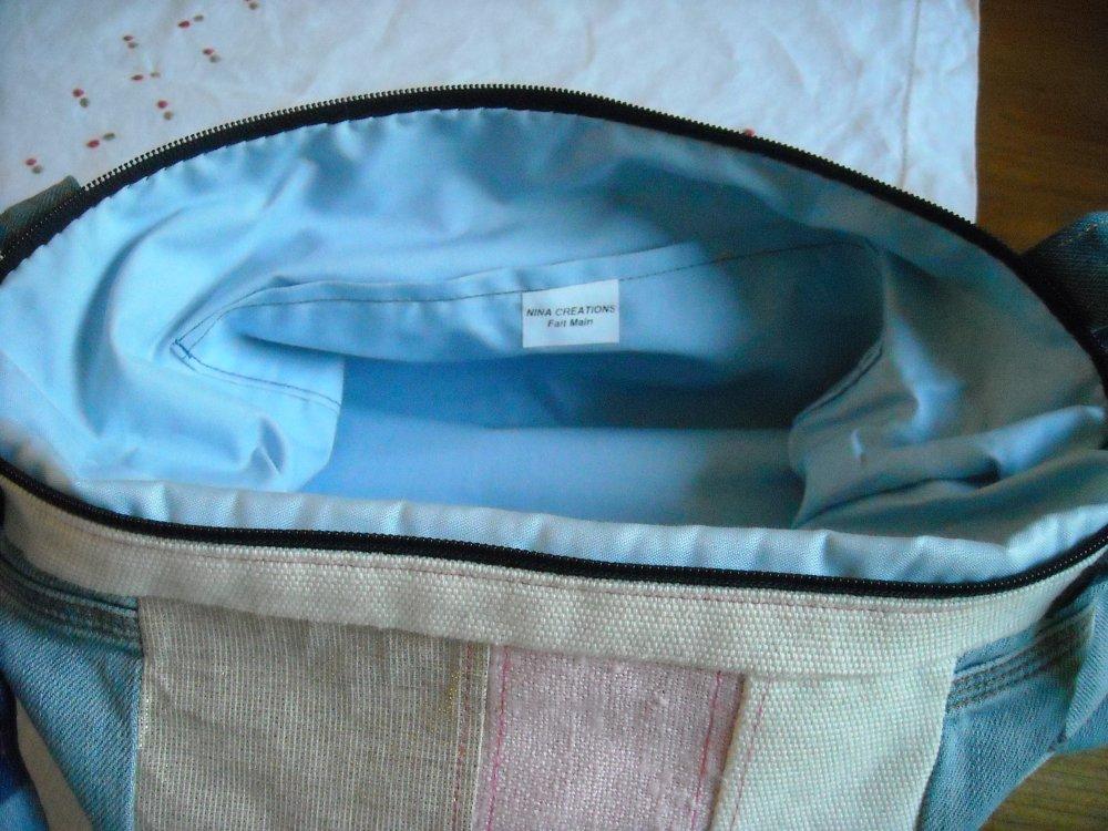 sac en jean recyclé
