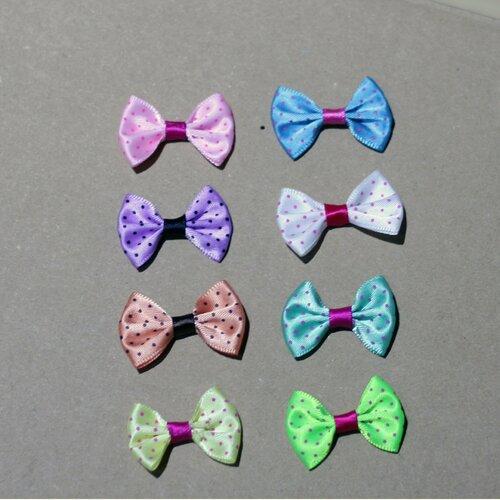 Applique  nœud papillon  35*25mm  , applique à broder, applique nœuds, applique création bijoux