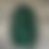 """Manteau veste de fée elfique """"elfrith"""" grande capuche  polaire vert sapin  sanlivine elf hood"""