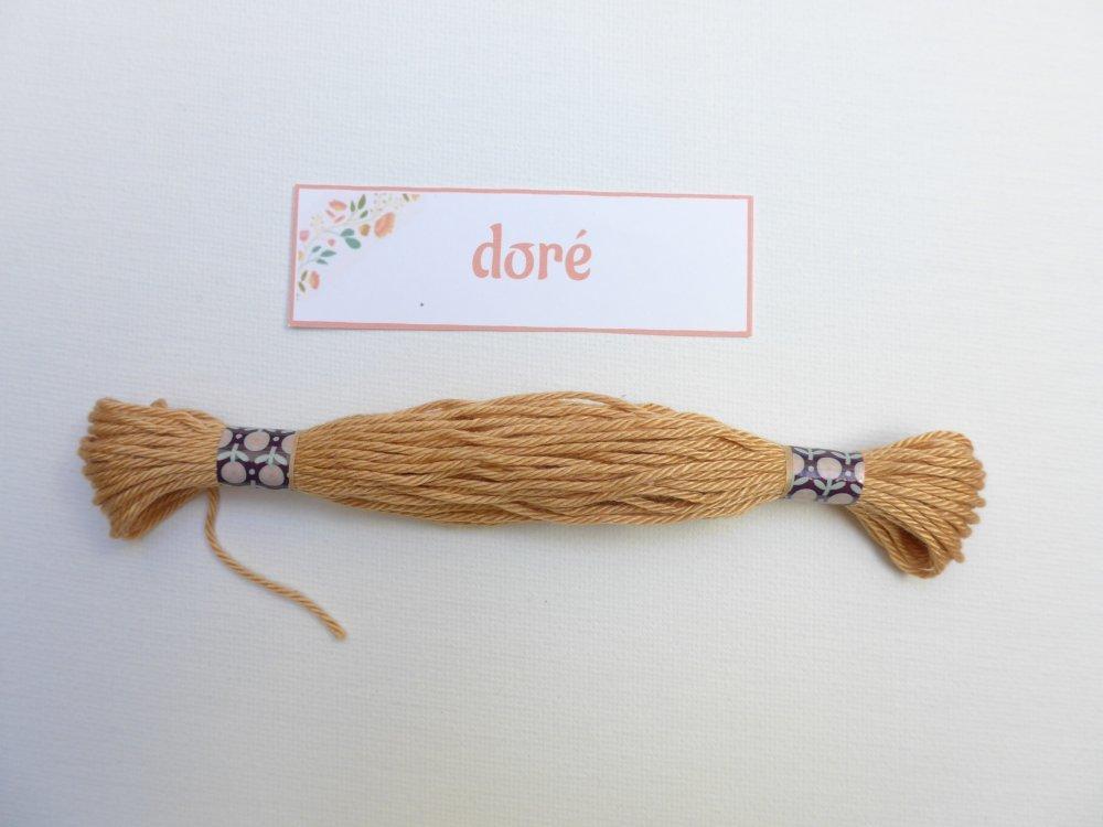 Echeveau 11m - coton mercerisé - colori doré