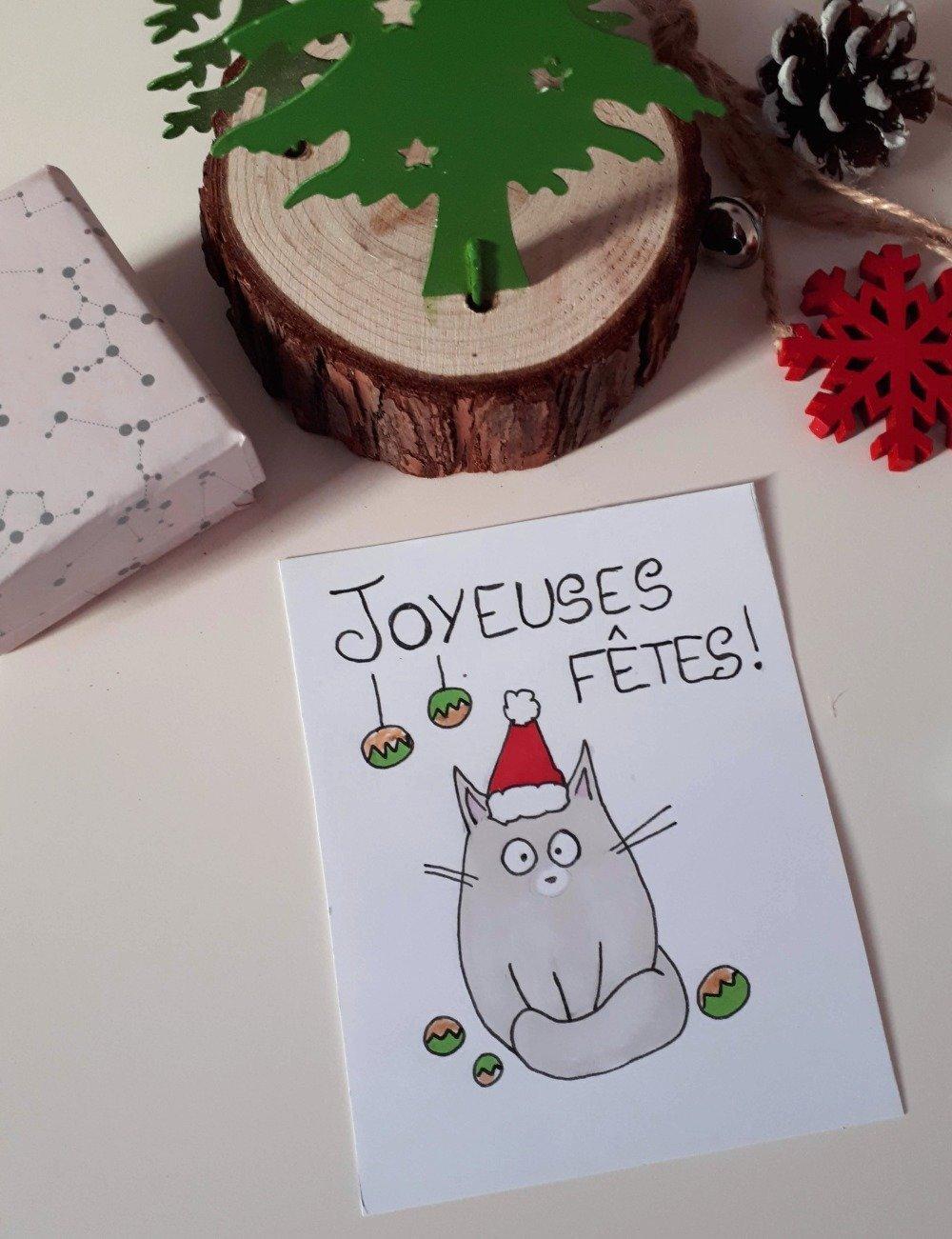 Carte Joyeuses fêtes !