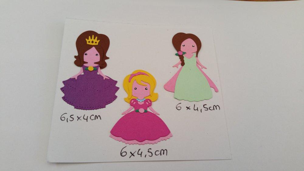 Découpe princesses en lot