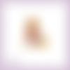Découpe scrapbooking raiponce, princesse en couleurs - ref.1062
