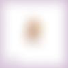 Découpe scrapbooking raiponce cheveux tressées, princesse en couleurs - ref.1061