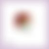 Découpe scrapbooking ariel la petite sirène nage mer océan princesse en couleurs - ref.1064