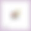 Découpe scrapbooking lapin blanc alice au pays des merveilles magie conte montre en couleurs embellissement (ref.1850)