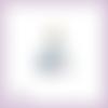 Découpe scrapbooking cendrillon princesse en couleurs (ref.1075)