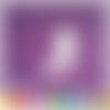Découpe scrapbooking fée, fraise, souris, princesse, magie, fille embellissement die cut 32 couleurs disponibles (ref.2432)