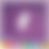 Découpe scrapbooking fée, vol, fraise, princesse, magie, fille embellissement die cut 32 couleurs disponibles (ref.2436)