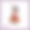 Découpe scrapbooking femme, danse, musique, gitane, espagne en couleurs embellissement die cut (ref.2469)