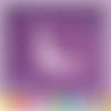 Découpe scrapbooking coin de page, bébé, biberon, nounours, naissance, enfant, embellissement die cut 32 couleurs disponibles (ref.2547)