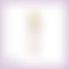 Découpe scrapbooking mannequin, accessoire femme, couture, robe, vintage en couleurs embellissement die découpe papier scrap (ref.2640)