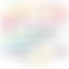 Découpe scrapbooking oeufs de pâques, oiseaux, branches, arbre, feuilles embellissement die cut découpe papier scrap (ref.2669)