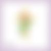Découpe scrapbooking croix et rose, pâques, fête religion fleur printemps signe en couleurs embellissement die découpe papier (ref.2660)