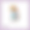 Découpe scrapbooking fille panier papillon chapeau fleurs enfant nature pâques en couleurs embellissement die découpe papier  (ref.2682)
