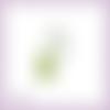 Découpe scrapbooking branche fleurs framboisier mûrier feuilles jardin nature fruits en couleurs embellissement papier scrap (ref.2423)
