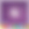 Découpe scrapbooking licorne arc en ciel princesse magie conte fées histoire embellissement die cut découpe papier scrap (ref.2803)