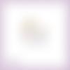 Découpe scrapbooking bébé licorne conte fées princesse magie en couleurs pastel embellissement die cut découpe papier scrap (ref.2982)