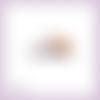 Découpe scrapbooking souris soda vacances plage mer piscine animal en couleurs embellissement die cut découpe papier scrap (ref.3030)