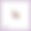 Découpe scrapbooking cerf forêt animal noël en couleurs embellissement die cut découpe papier scrap (ref.2634)