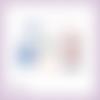 Découpes scrapbooking cadeaux de noël bougie houx boule hiver fête sapin décoration en couleurs embellissement papier scrap (ref.2887)