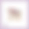 Découpe scrapbooking traineau père noël cadeaux neige hiver fête neige en couleurs embellissement die découpe papier scrap (ref.3037)