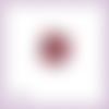 Découpe scrapbooking poinsettia fleur de noël hiver fête plante décoration en couleurs embellissement découpe papier scrap (ref.3014)