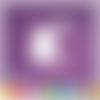 Découpes scrapbooking fille enfant fauteuil livre lecture chat lampe histoire - ref.2945