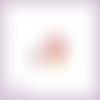 Découpes scrapbooking winnie l'ourson et porcinet cadeaux noël hiver en couleurs embellissement die cut découpe papier scrap (ref.2823)