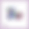 Découpe scrapbooking accessoires femme parfum sac fleur maquillage chaussures en couleurs embellissement carte papier scrap (ref.2847)