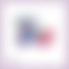 Découpe scrapbooking accessoires femme parfum sac fleur maquillage chaussures en couleurs embellissement carte papier scrap (ref.2843)