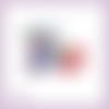 Découpe scrapbooking accessoires femme parfum sac fleur maquillage chaussures en couleurs embellissement carte papier scrap (ref.2845)