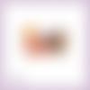 Découpe scrapbooking fille piano instrument musique chant concert fête enfant en couleurs embellissement die cut papier scrap (ref.2952)