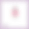 Découpe scrapbooking fille coquelicot robe fleur princesse anniversaire mariage en couleurs embellissement carte papier scrap (ref.2933)