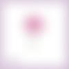 Découpe scrapbooking lotus fleur plante nature asie mariage anniversaire en couleurs embellissement die cut carte papier scrap (ref.2970)