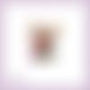 Découpe scrapbooking renne noël bonbons cadeaux sapin hiver fête enfants en couleurs embellissement découpe papier scrap (ref.3126)