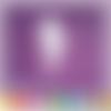 Découpe scrapbooking femme vahiné tahitienne vacances voyage fleurs tropiques danse île embellissement die carte papier (ref.3388)