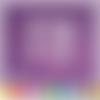 Découpe scrapbooking scène noël fenêtre enfant flocons étoiles (ref.3180)