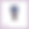 Découpe scrapbooking père noël montgolfière cadeaux en couleurs - ref.3159