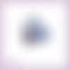 Découpe scrapbooking pingouin sapin noël bonnet en couleurs (ref.3171)