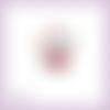 Découpe scrapbooking père noël rouge cadeaux en couleurs - ref.3423