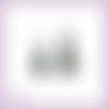 Découpes scrapbooking 2 sapins noël arbre forêt en couleurs - ref.3437
