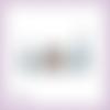 Découpes scrapbooking cottage sapins maison noël forêt en couleurs - ref.3553