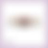 Découpe scrapbooking couronne noël bougies nœud en couleurs (ref.3457)