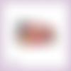 Découpe scrapbooking nounours cadeaux noël fleur en couleurs - ref.3415